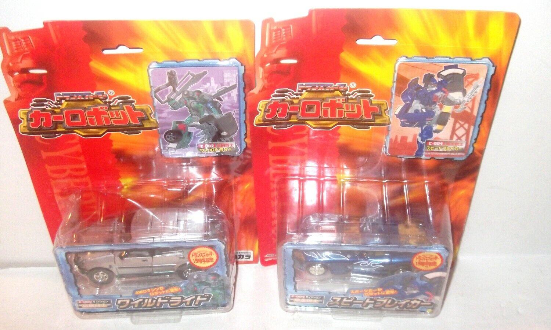LOT Transformers RID CAR ROBOTS TAKARA brawn side burn prowl C001 C001  NEW