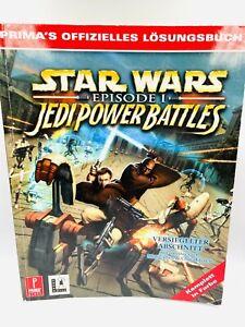 PRIMA´s Star Wars Episode Jedi Power Battles Lösungsbuch++ SEHR RAR++