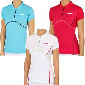 Mode 2019 Babolat Débardeur Match Performance Manches Courtes Polo Shirt Top-afficher Le Titre D'origine Chaud Et Coupe-Vent