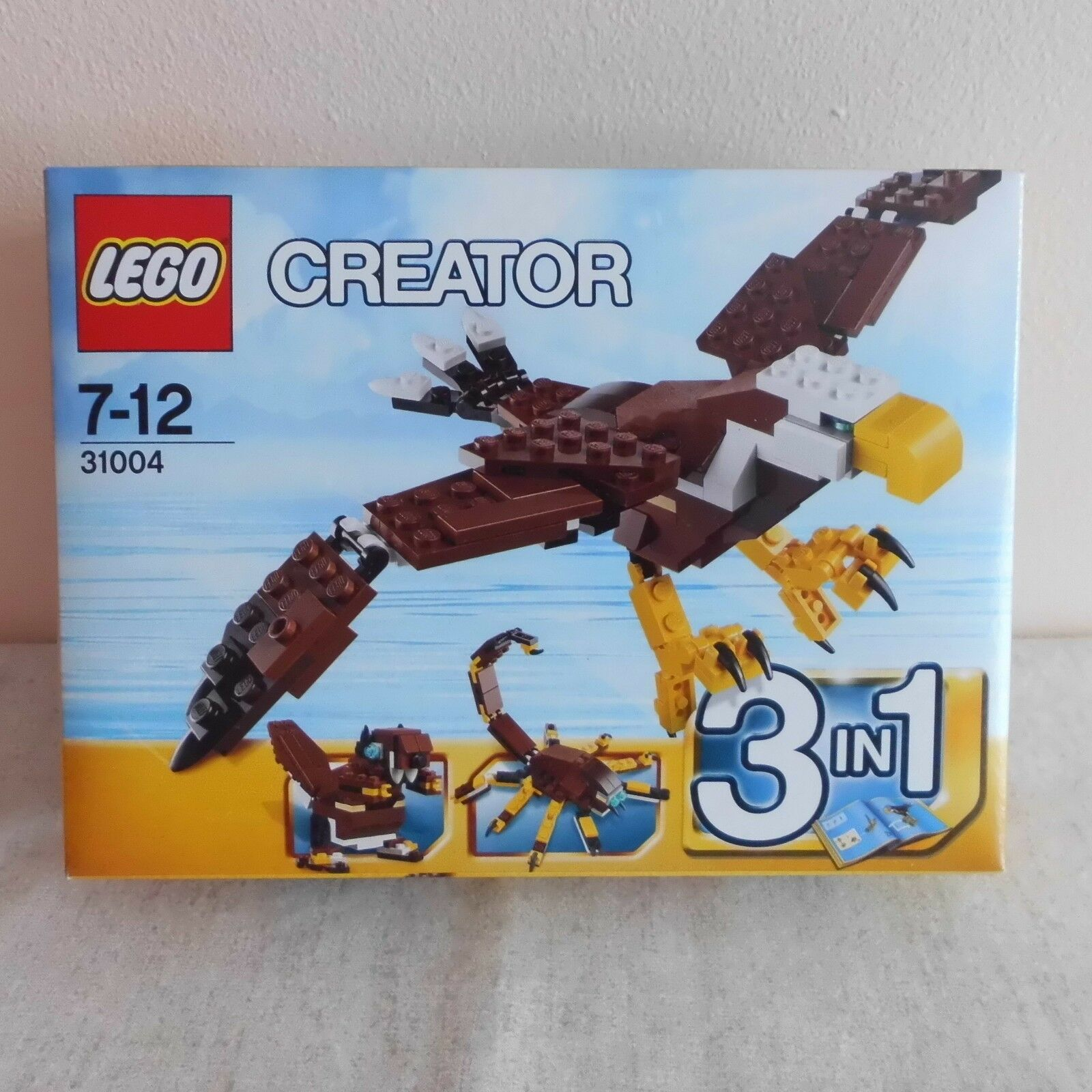 RARO LEGO FIERCE FLYER 31004. B/N NON APERTO.