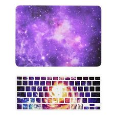 """Purple Galaxy Graphic Hard Case + Keyboard Cover for MacBook Pro 13"""" Model A1278"""
