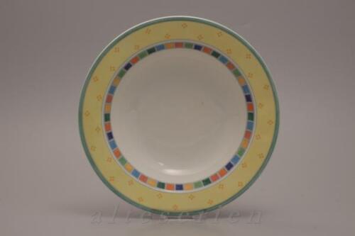Salade assiette avec drapeau D 20,3 Cm Prix Spécial VILLEROY /& BOCH Twist Alea Limone