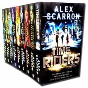 TimeRiders-Collection-Alex-Scarrow-9-Books-Set-Gates-of-Rome-Time-Riders