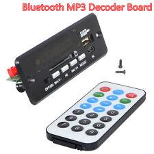 Coche 12V Inalámbrico Bluetooth Manos Libres Kit MP3 descodificar Board módulo Radio Fm Usb