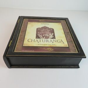 CHATURANGA-Game-Replacement-Parts-Front-Porch-Classics-Empty-Game-Box