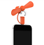 thumbnail 15 - Portable Cell Phone with fan 2 in1 USB mini fan for iPhones and androids