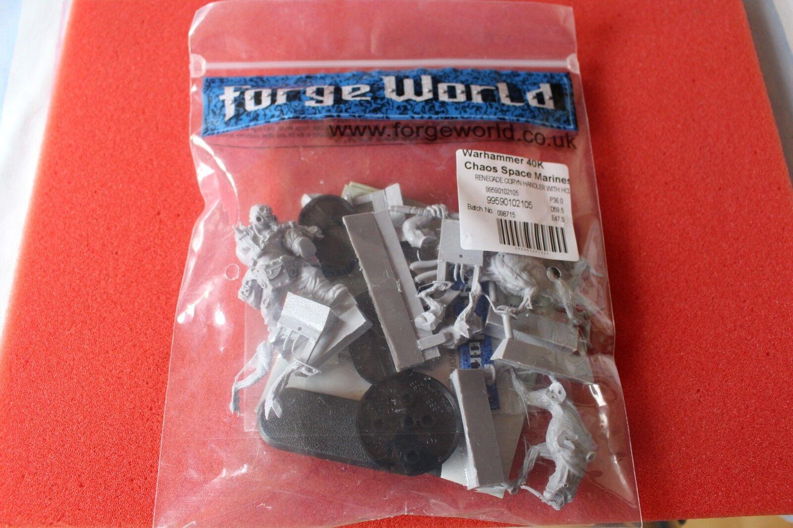 Forgeworld warhammer 40k  khornate Renegade Ogryn avec Hounds of Xaphan Neuf dans sa boîte nouveau  magasin de gros