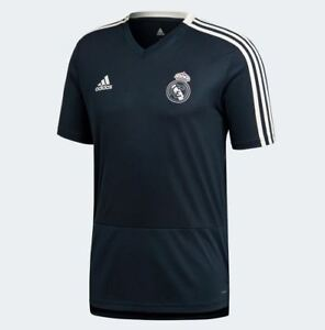 20ca28d24 Image is loading Adidas-Men-039-s-REAL-MADRID-TRAINING-Jersey-
