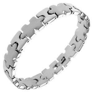 Image Is Loading Autism Awareness Puzzle Piece Bracelet Stainless Steel