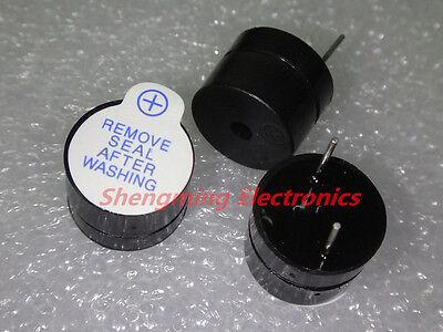 100PCS 5V Active Buzzer Magnetic Long Continous Beep Tone Alarm Ringer 12MM