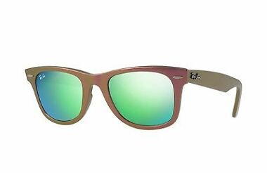 Ray-Ban RB2140-611019-50 Green Flash Lens Sunglasses