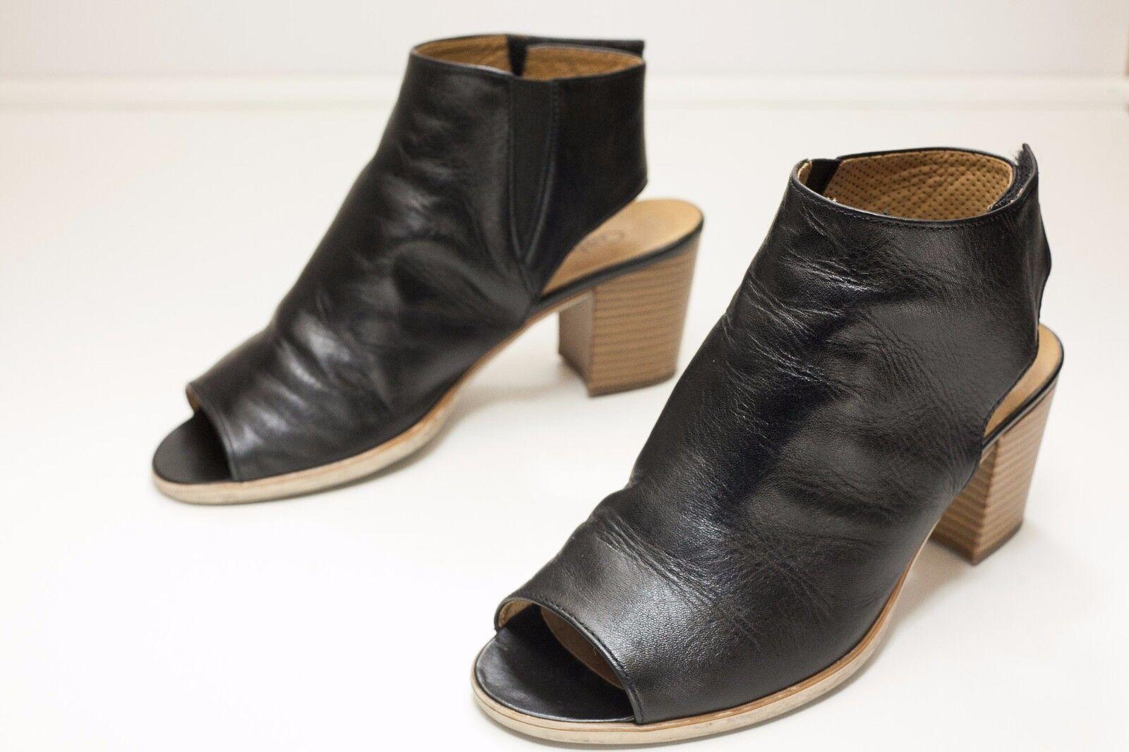 Gabor 7.5 Black Sandals Women's UK 5