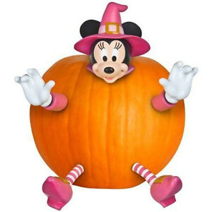 image is loading disney minnie mouse pumpkin halloween decoration push in