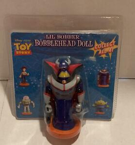 "1990's Disney Pixar Toy Story ZURG Lil' Bobber Bobblehead Doll 4.5"" Vintage NEW"