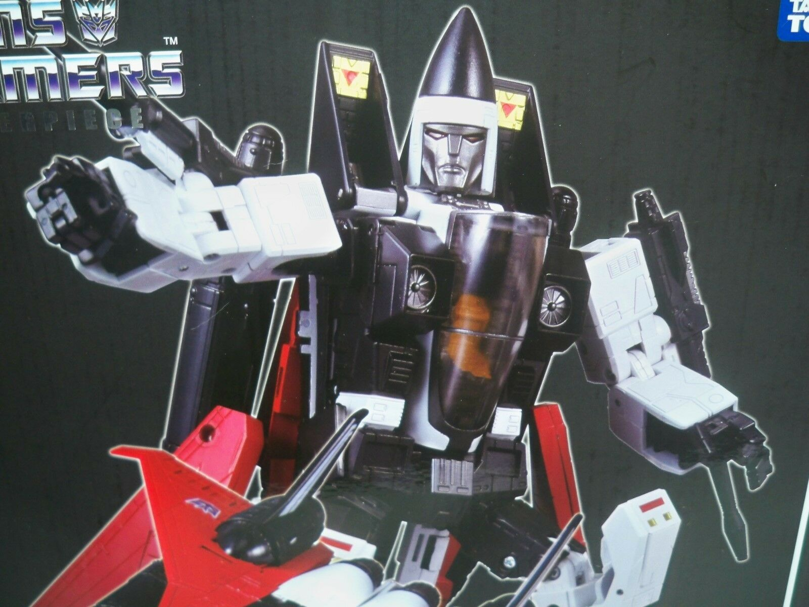 D1705831 RAMJET LOOSE WITH BOX MP-11 TRANSFORMERS 100% COMPLETE MINTY VINTAGE
