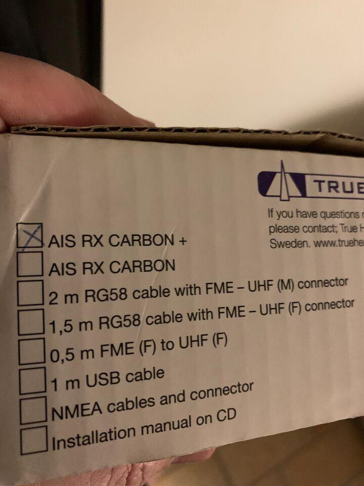AIS carbon RX + Modtager ny  https://trueheadin...