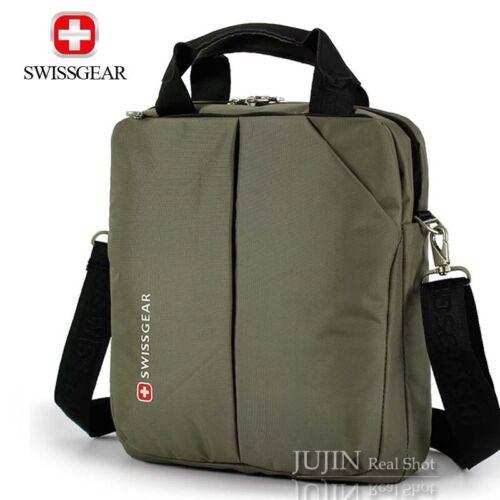 "13/"" Briefcase Swiss Gear Men Women Laptop Messenger Shoulder Bag Daypack Nylon"