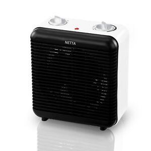 Électrique 2000 W portable vertical Ventilateur Chauffage maison bureau rapide de la chaleur noir  </span>