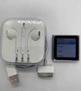 Apple Ipod Nano 6 Generation Gray Graphite 8gb Watch 0 2oz 6th Used 1 Rar Ebay