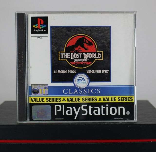 Jurassic Park The Lost Worlds (Sony PlayStation 1/PS1/One,2000) komplett wie neu