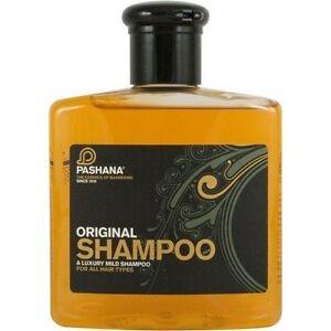 PASHANA Original Shampoo for Men, 250ml *All Hair Types mens shampoo