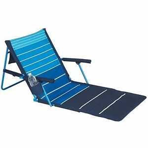 Image Is Loading New Outdoor Folding Lounge Chair Beach Lounger Padded
