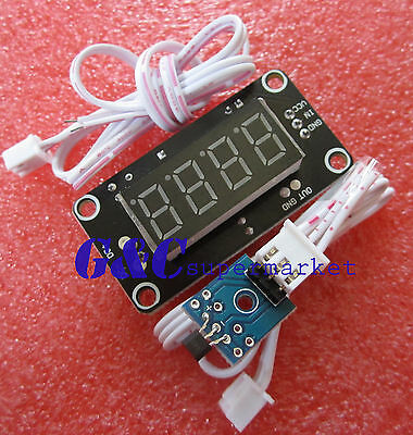 2PCS 12V Hall tachometer display module Stopwatch speed counting module M79