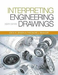 Interpreting engineering drawings by ted branoff jay d helsel and stock photo fandeluxe Image collections