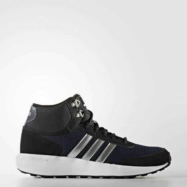 femmes  ADIDAS NEO CLOUDFOAM RACE Winter Mid Trainers Running  Chaussures