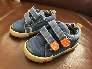 SEE KAI RUN Blue/Orange Shoes - Size