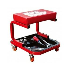 Auto shop stools mechanic with wheels creeper seat car for Garage seat castres