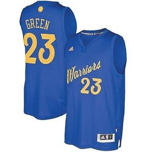outlet store 000cc ba035 Details about Draymond Green #23 Golden State Warriors Adidas Xmas Day NBA  Swingman Jersey M