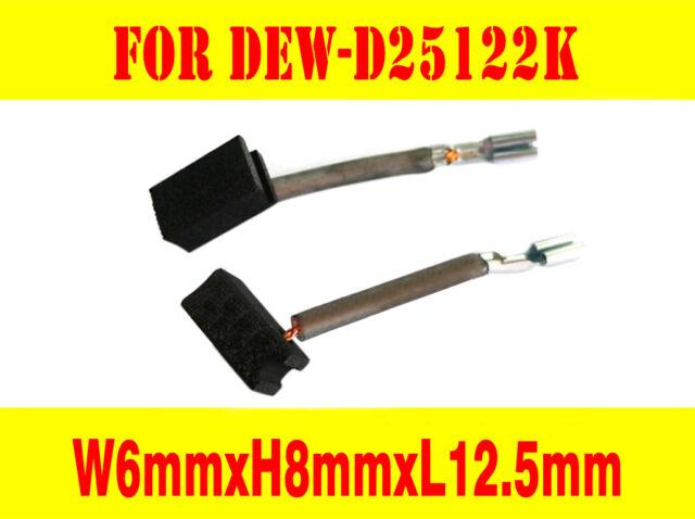 Carbon Brushes For Dewalt D25122K D25123K D25213K N081989 SDS Hammer Drill AU