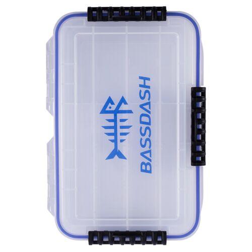 Bassdash 3600 Tackle Storage Waterproof Utility Tackle Box Fishing Lure Tray New