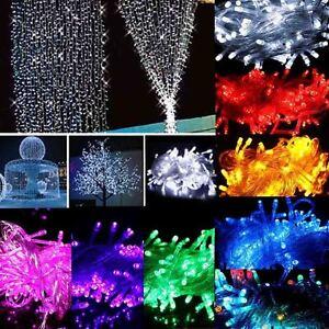 10M-100-LED-Christmas-Wedding-Xmas-Party-Decor-Outdoor-Fairy-String-Light-Lamp