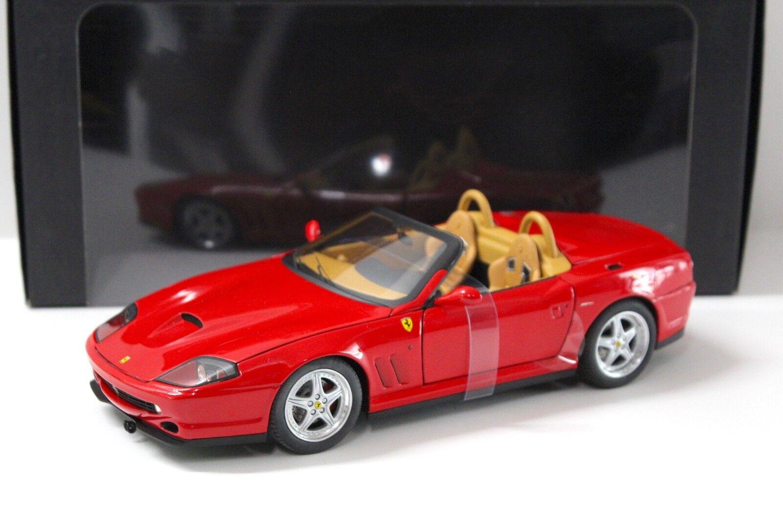 1 1 1 18 HW elite ferrari 550 barchetta Pininfarina rojo new en Premium-modelcars f470db
