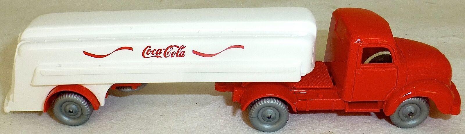 Autocisterna Magirus 5000 Camioncino da Carico Coca Cola Imu H0 1 87 Å