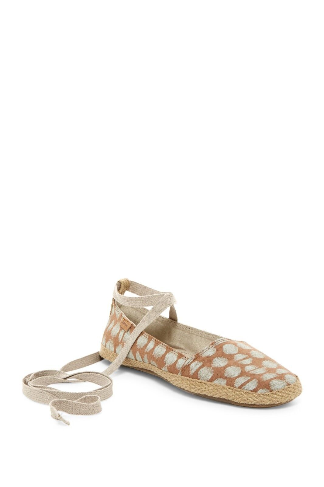 NEW in Box Sanuk Espie Lace-Up Ankle Flat ballerina style lace Size 9.5 B
