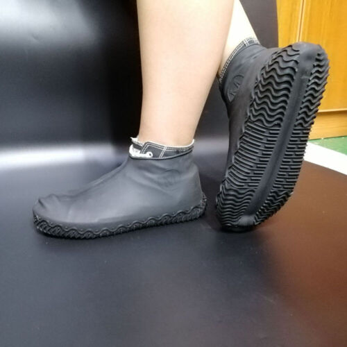 Silicone Overshoes Rain Waterproof Shoe Cover Boot Covers Protector Recyclable
