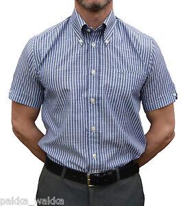 Mods White Soul Blue Shirt Oi Ska '60 Retro anni Striped Skinhead Britac f8q5Fq
