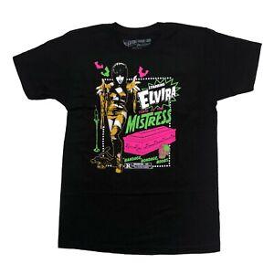 Kreepsville 666 Elvira Gothic Horror Mummy Curse Mens Black T Shirt Size XXL 2XL