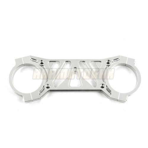 Front Fork Stabilizer Brace Silver Gold For Honda CBR600 F4i 2001-2007 02 03 04