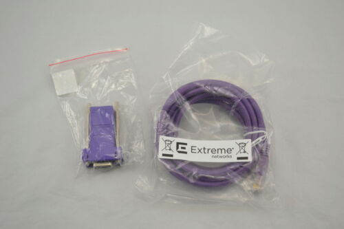 Extreme Networks Console Cable Adapter Cat 5E DB9 F Ethernet Network Cable