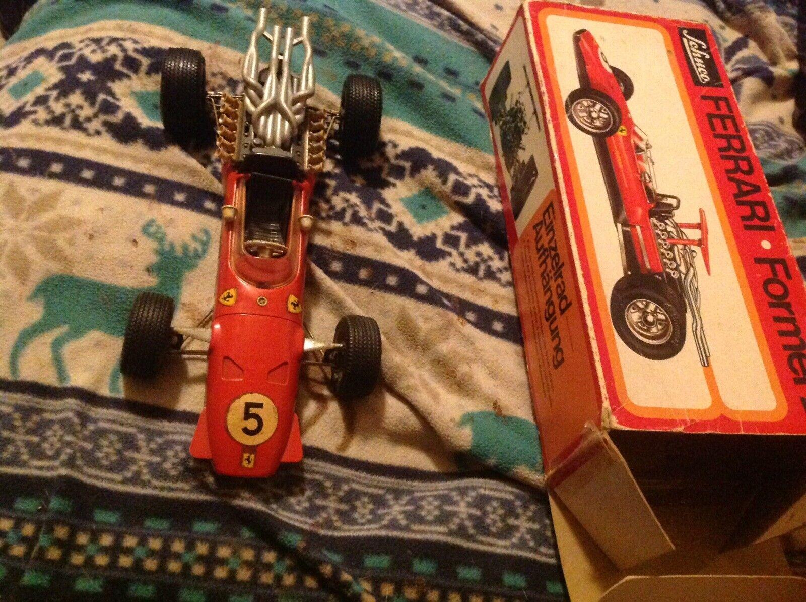 Ferrari Formel 2 Schuco Modelll 1073 Wind Up NO KEY