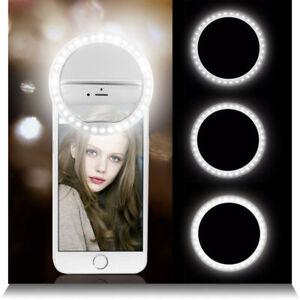 Portable-selfie-36-lumiere-LED-anneaux-lumineux-pour-iphone-6-Samsung-S6-S7-S8