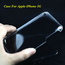 Slim Clear Crystal Glossy Transparent Hard PC Case Cover For Apple iPhone 3G 3GS