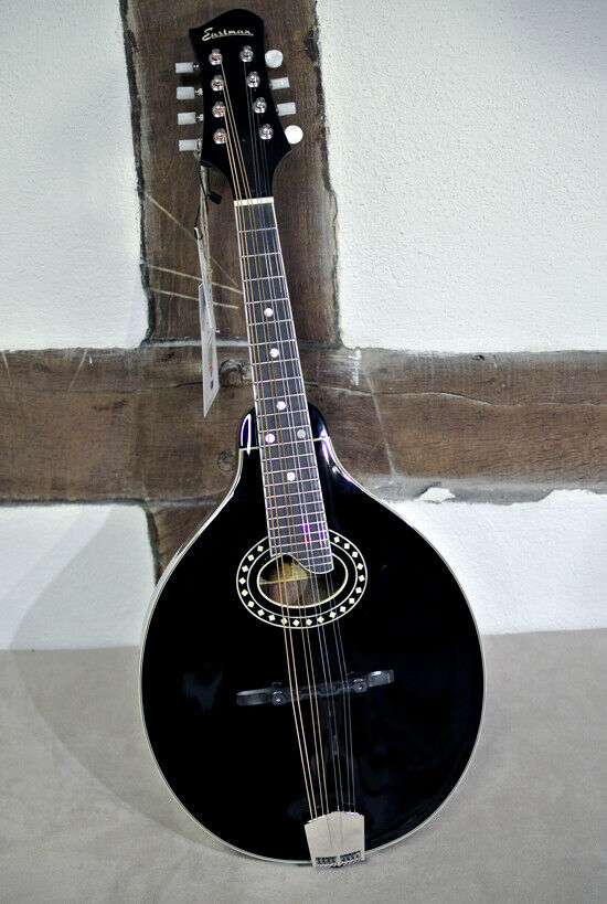 Eastman A Style Mandoline - MD404 BK - oval