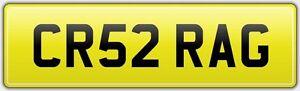 CRAIG-VERY-RARE-CAR-REG-NUMBER-PLATE-CR52-RAG-ALL-FEES-PAID-CRAIGY-CRA-CRG-CRAG