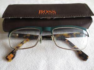 8cae25c44328 Image is loading Boss-Orange-brown-tortoiseshell-glasses-frames-BO-0072-