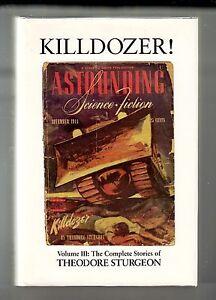 KILLDOZER-Theodore-Sturgeon-1st-US-Vol-3-Complete-Stories